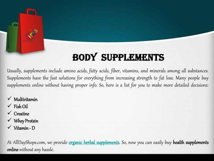 Body  Supplements
