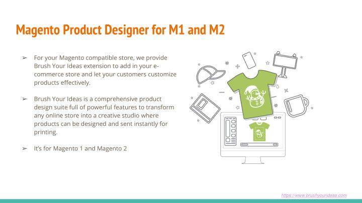 Magento Product Designer for M1 and M2