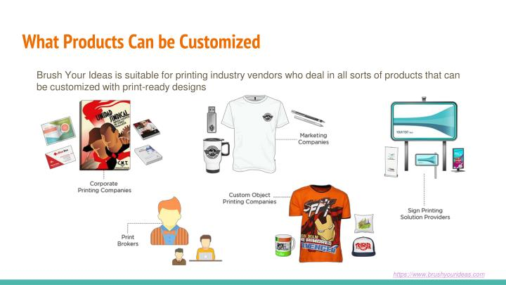 What Products Can be Customized