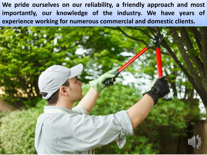 We pride ourselves on our reliability, a friendly approach and most importantly, our knowledge of th...