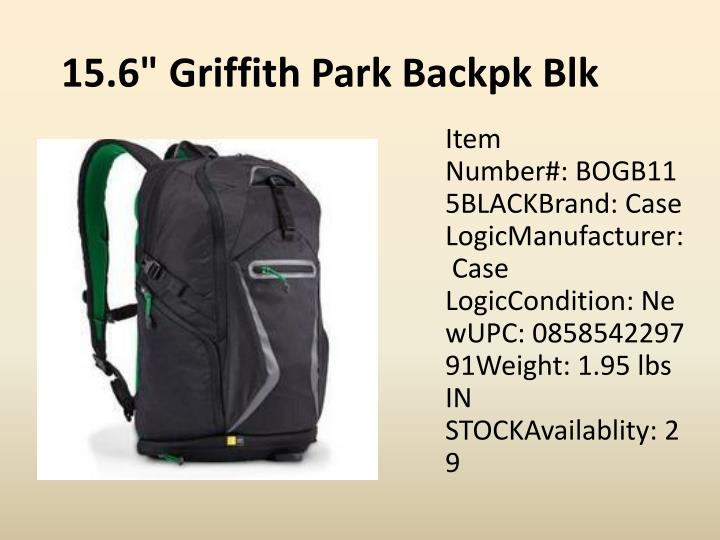 "15.6"" Griffith Park"