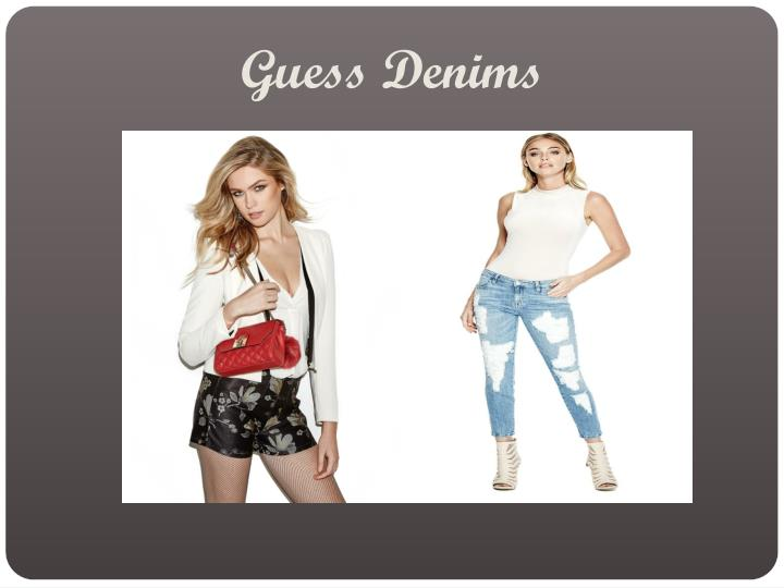 Guess Denims