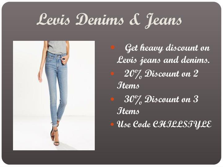 Levis Denims & Jeans