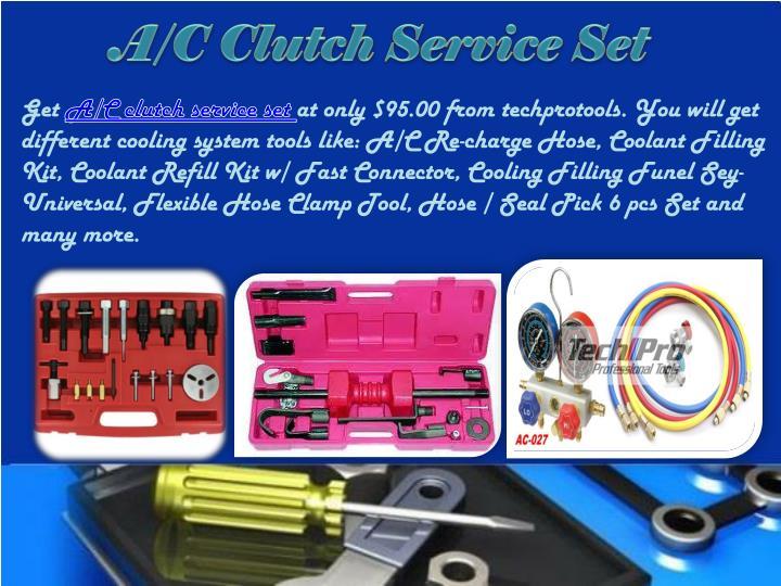 A/C Clutch Service Set