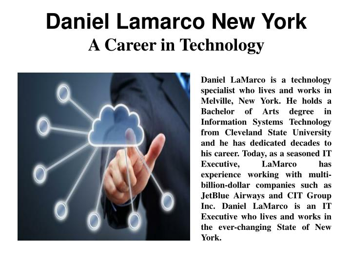 Daniel Lamarco New York