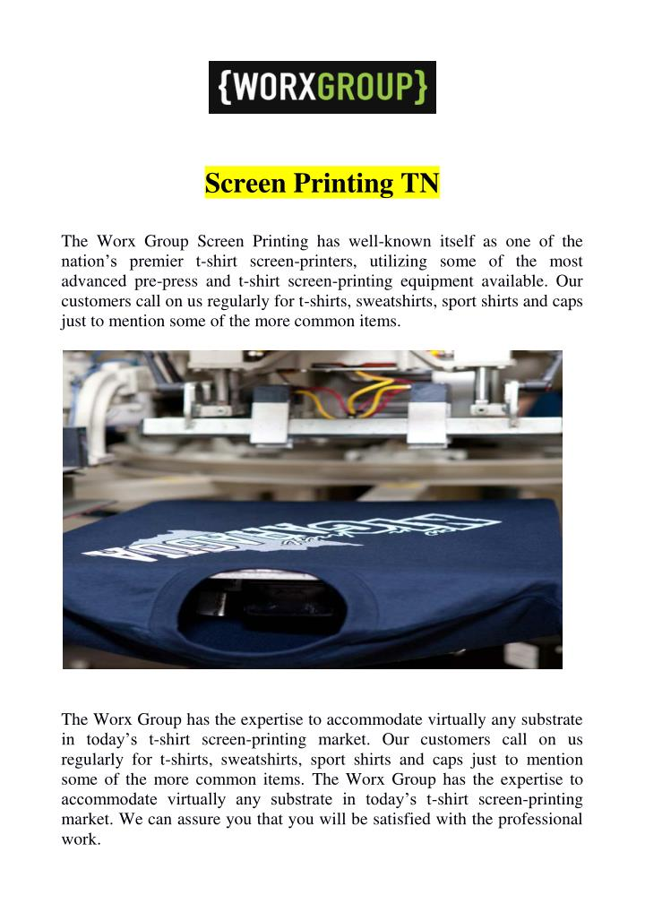 Screen Printing TN