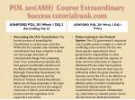 pol 201 ash course extraordinary success tutorialrank com2