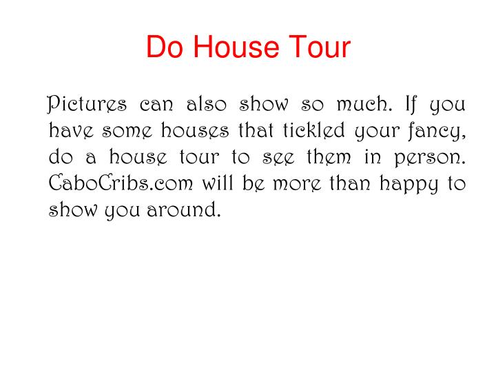 Do House Tour