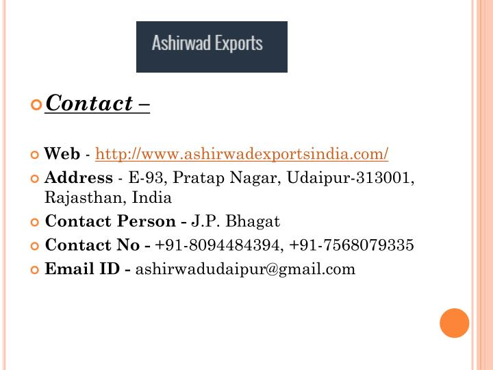 Contact –
