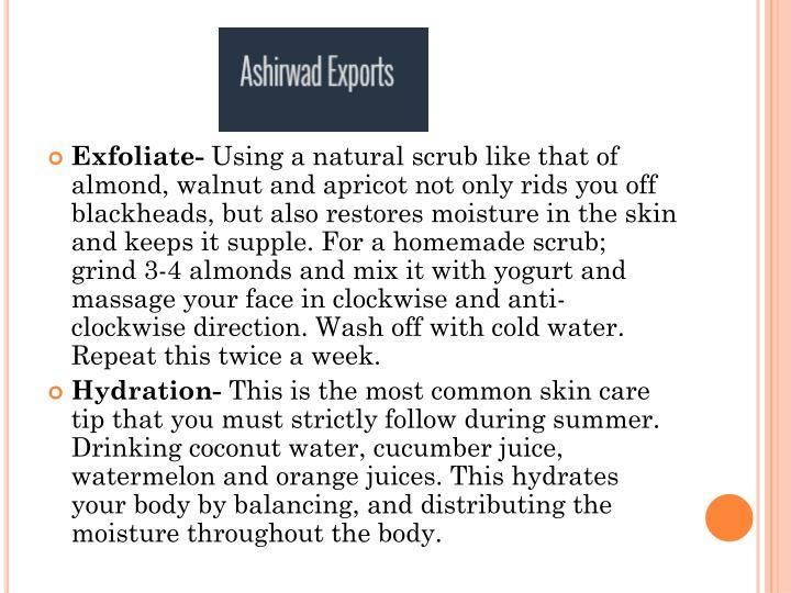 Exfoliate-