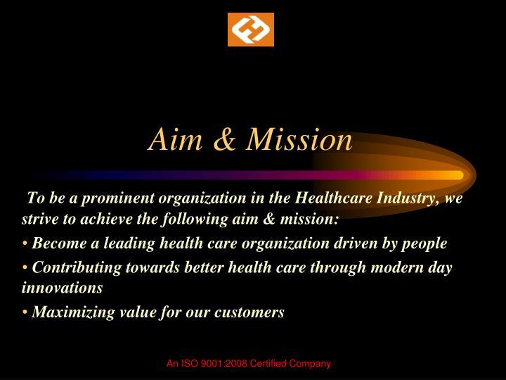 Aim & Mission