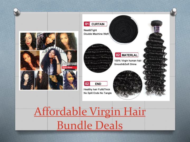 Affordable Virgin Hair Bundle Deals