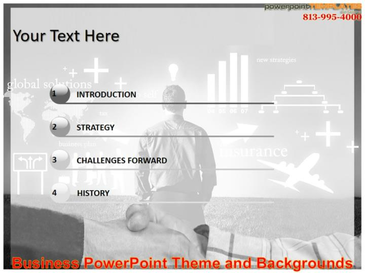 Business powerpoint theme and backgrounds