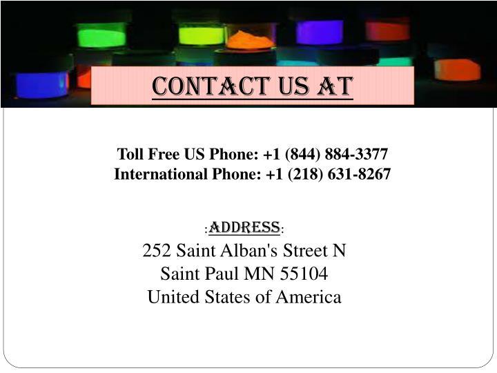 Contact Us at