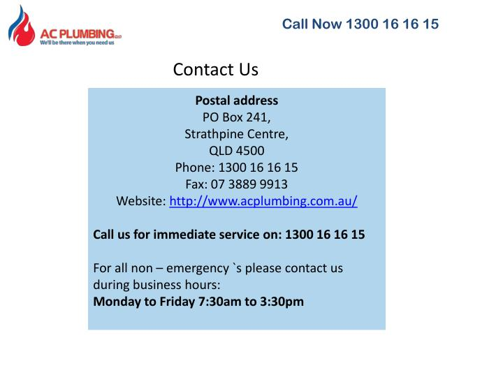 Call Now 1300 16 16 15