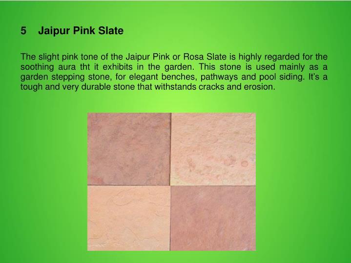 5    Jaipur Pink Slate