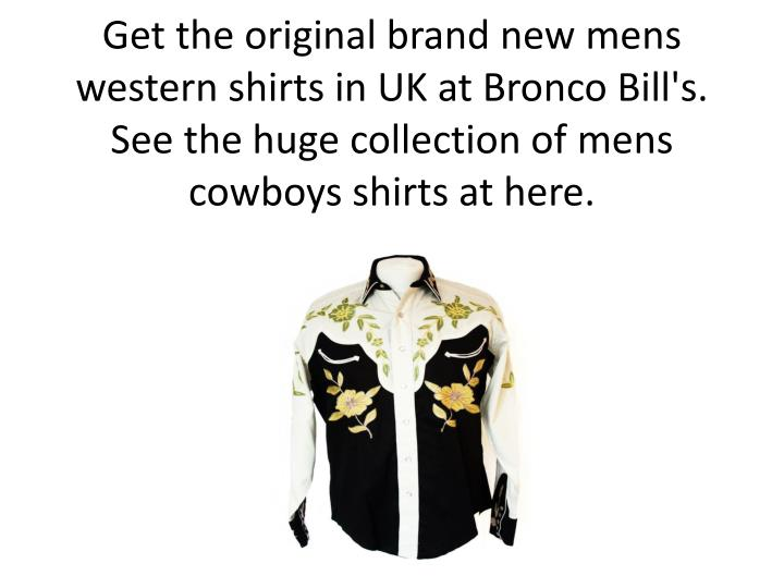 Get the original brand new