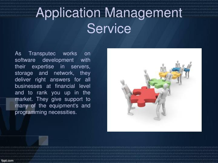 Application Management Service