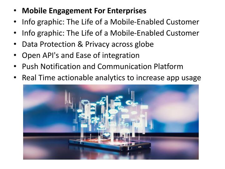 Mobile Engagement For