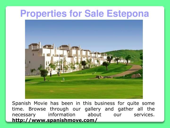 Properties for Sale Estepona