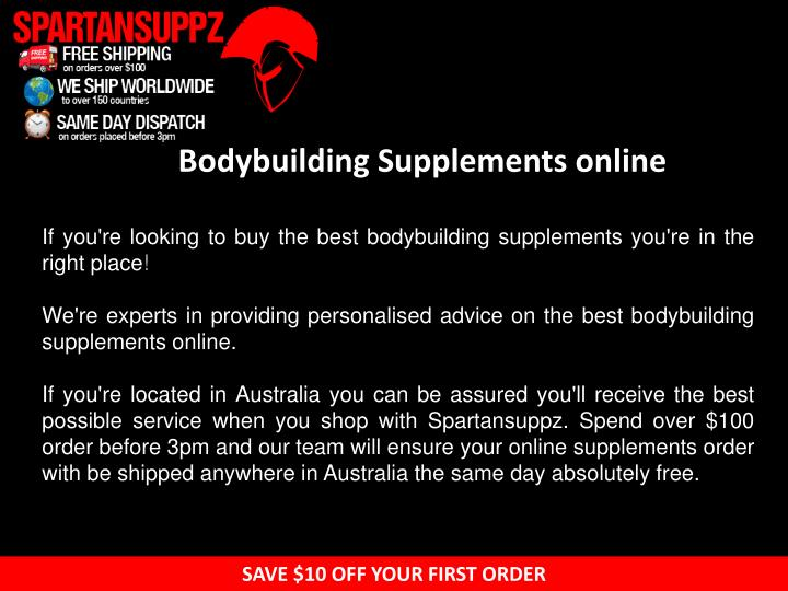 Bodybuilding supplements online