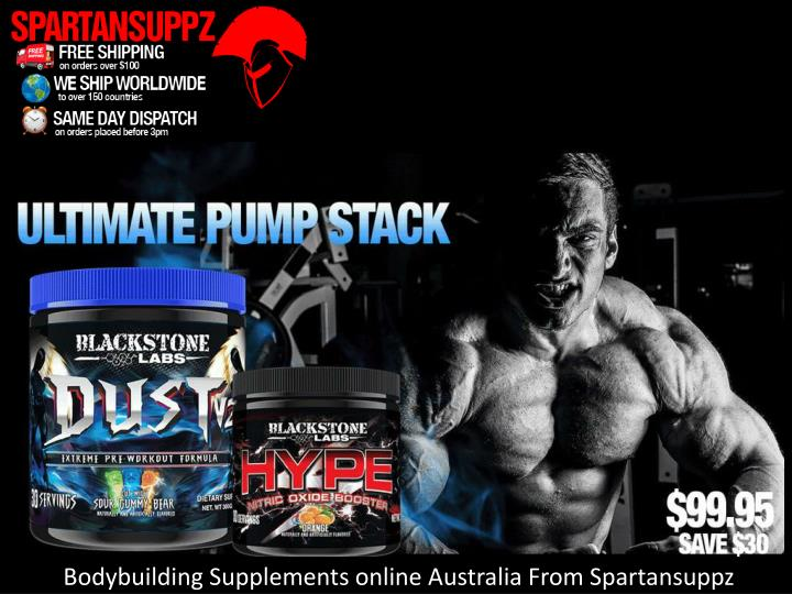 Bodybuilding Supplements online Australia From Spartansuppz
