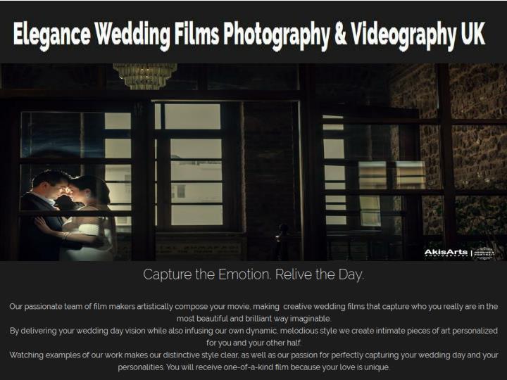 Creative wedding photography &