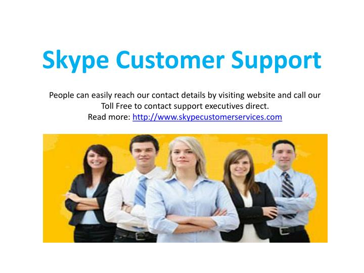 Skype customer support