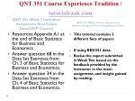 qnt 351 course experience tradition tutorialrank com13