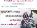 qnt 351 course experience tradition tutorialrank com18