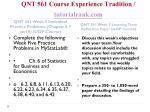 qnt 561 course experience tradition tutorialrank com12