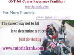 qnt 561 course experience tradition tutorialrank com14