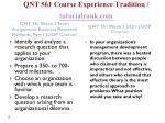 qnt 561 course experience tradition tutorialrank com6