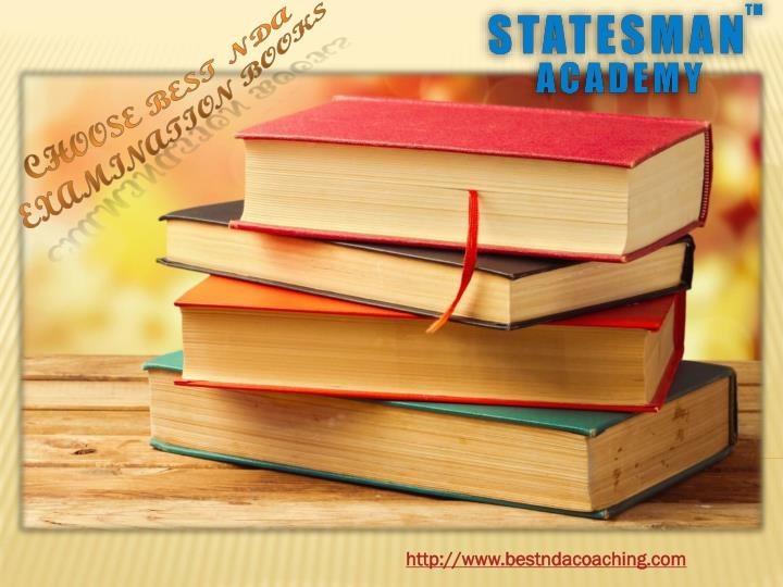 Choose Best NDA Examination Books