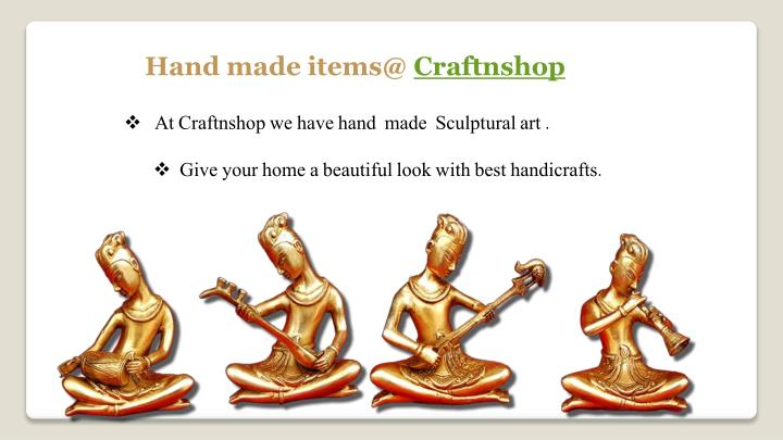 Hand made items@