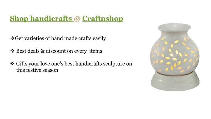 Shop handicrafts