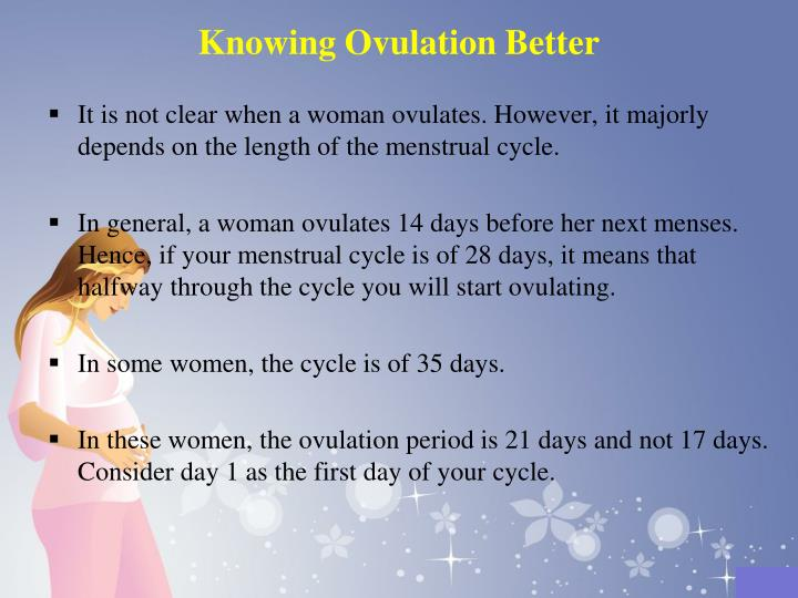 Knowing Ovulation Better