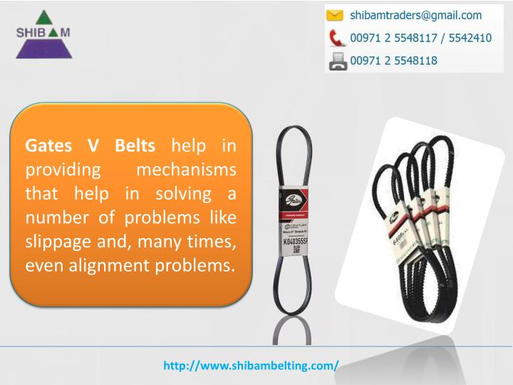Gates V Belts