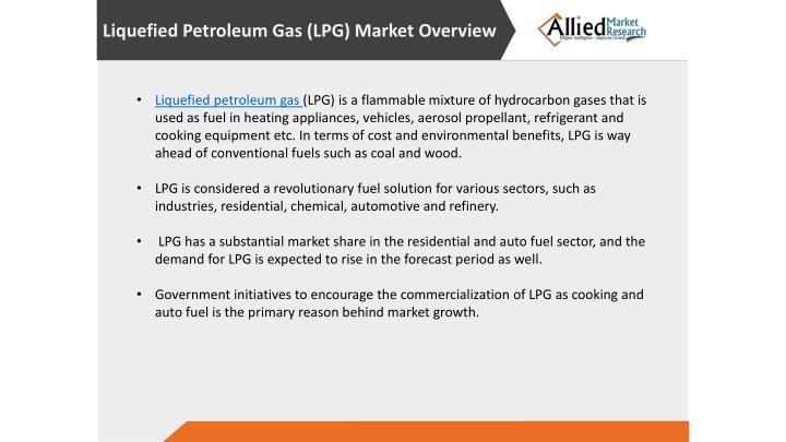 Liquefied Petroleum Gas (LPG)Market Overview