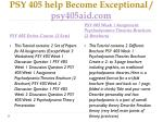 psy 405 help become exceptional psy405aid com1