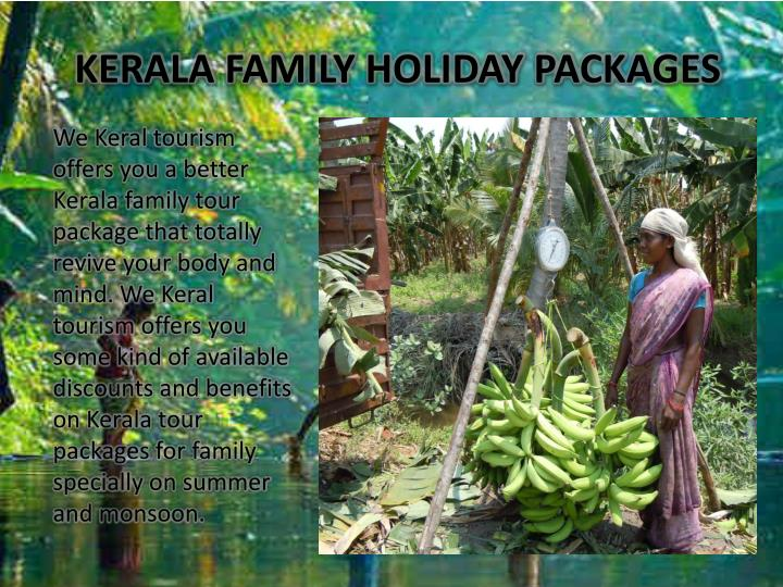 KERALA FAMILY HOLIDAY PACKAGES