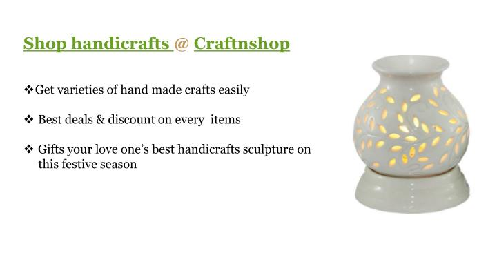 Shop handicrafts @ Craftnshop