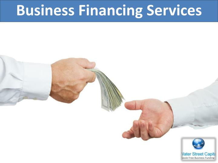 Business Financing Services