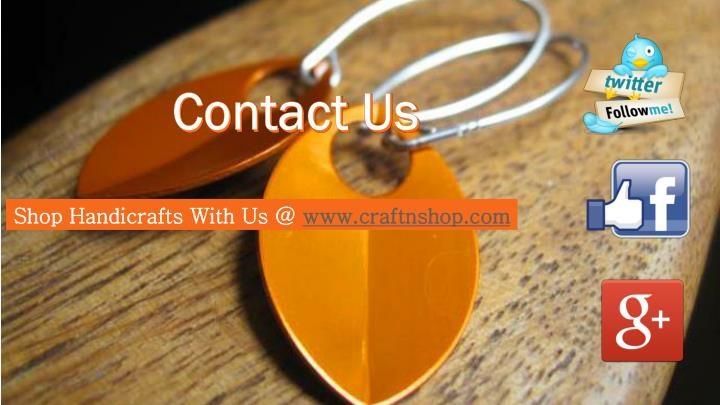 Shop Handicrafts With Us @
