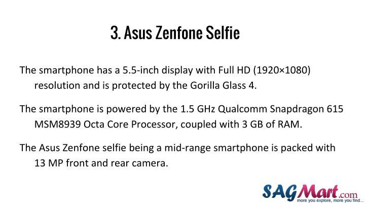 3. Asus Zenfone Selfie