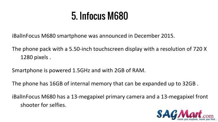 5. Infocus M680