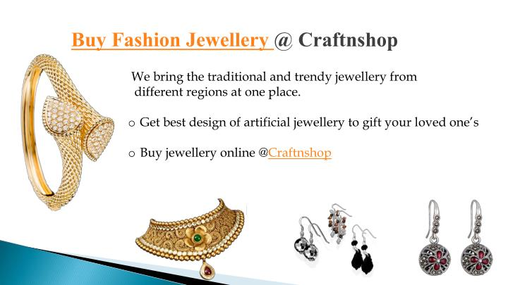 BuyFashion Jewellery @ Craftnshop