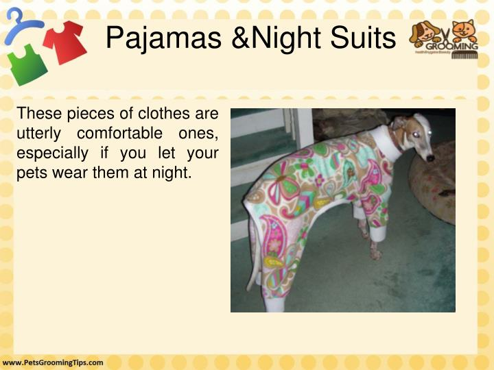 Pajamas &Night Suits