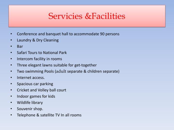 Servicies