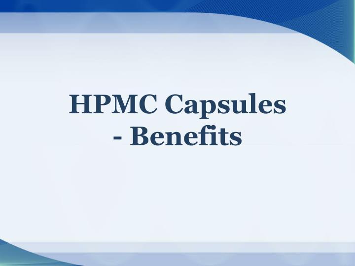 HPMC Capsules